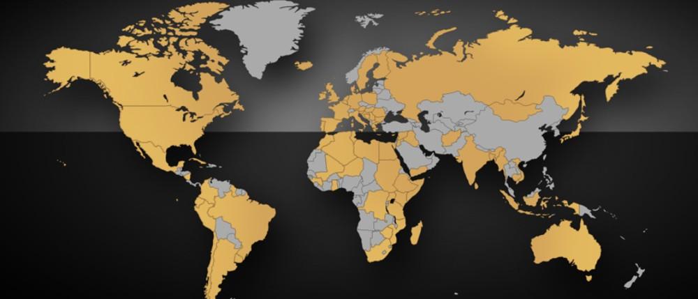 Radeberger weltweit
